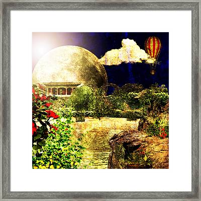 Past Life Regression Framed Print by Ally  White