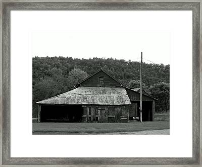 Past Shed Framed Print by Wild Thing