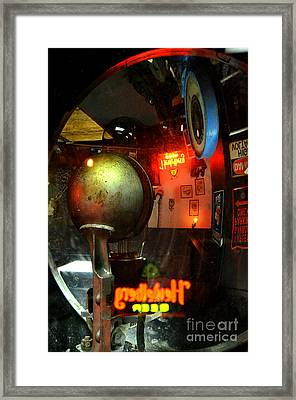Past Tense 2 Framed Print by Newel Hunter