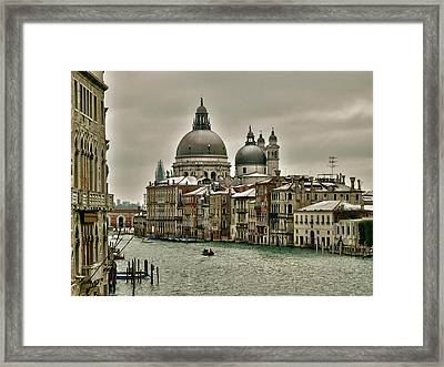 Framed Print featuring the photograph Past Time by Thierry Bouriat