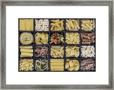 Pasta Framed Print by Tim Gainey