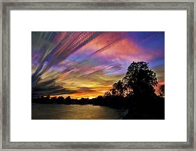 Pastel Pallet Framed Print by Matt Molloy