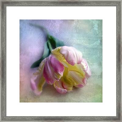 Pastel Poem Framed Print by Jessica Jenney
