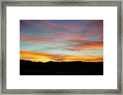 Pastell Night  Framed Print by Kevin Bone