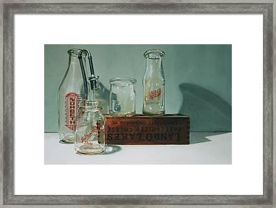 Pasteurized Framed Print by Denny Bond