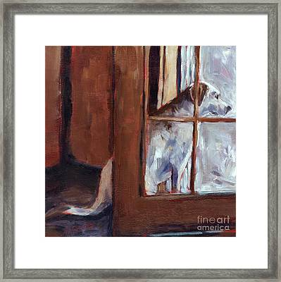 Pastime Framed Print by Molly Poole