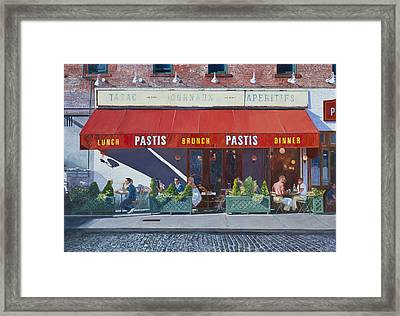 Pastis Framed Print by Anthony Butera