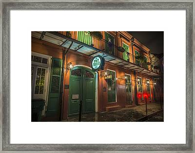 Pat Obriens New Orleans Framed Print by David Morefield