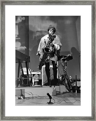 Pat Patrick 1968 Framed Print by Lee  Santa