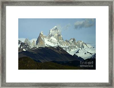Patagonia Mount Fitz Roy 1 Framed Print by Bob Christopher