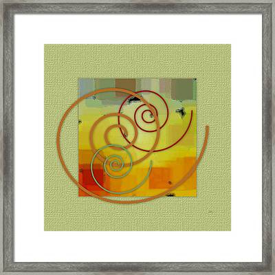 Patchwork I Framed Print by Ben and Raisa Gertsberg