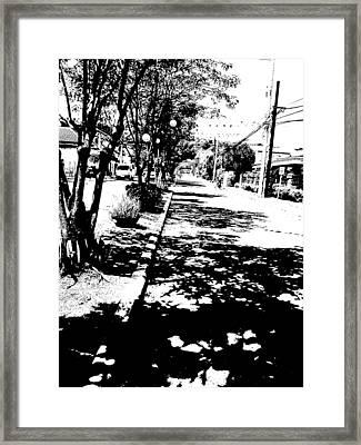 Path Framed Print by Duane Blubaugh