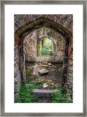 Path Less Travelled Framed Print by Adrian Evans