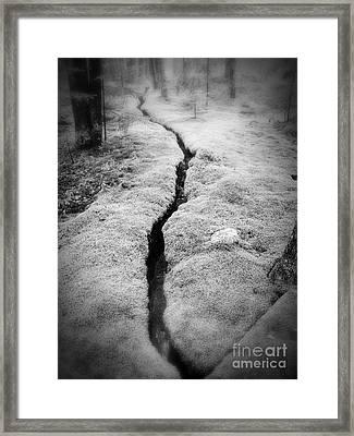 Path Taken Framed Print by Edward Fielding