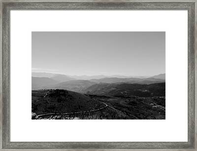 Path To Earth Framed Print by Andrea Mazzocchetti