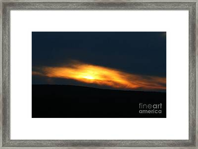 Path To Mordor Framed Print by Neal  Eslinger