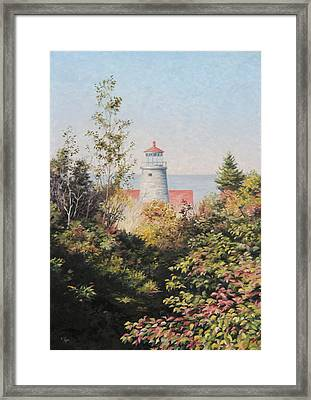 Path To The Light Framed Print by Will Kefauver