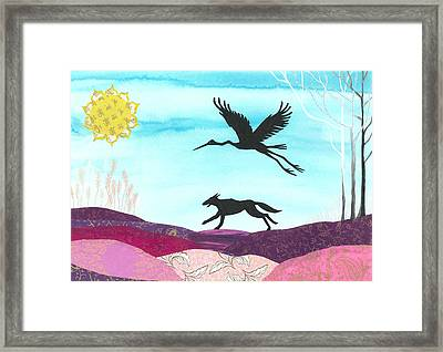 Pathfinder Framed Print by Cat Athena Louise