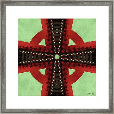 Pathway To Knowledge Framed Print by Jeff Kolker