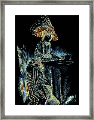 Patience Digital 1910 Framed Print by Padre Art