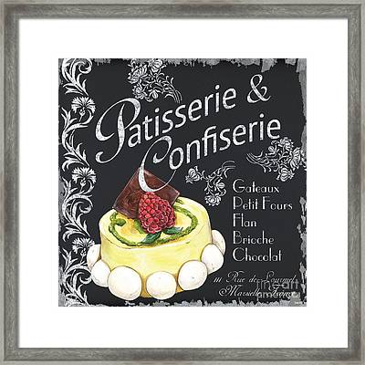 Patisserie And Confiserie Framed Print by Debbie DeWitt