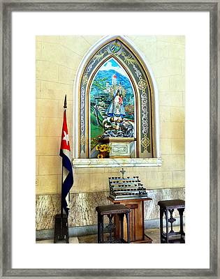 Christs Birthday Framed Print featuring the photograph Patria by Carlos Avila