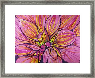 Patrice Framed Print by Marcia Brownridge