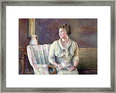 Patricia Framed Print by Arthur Fix