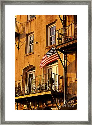 Patriotic Framed Print by M Glisson
