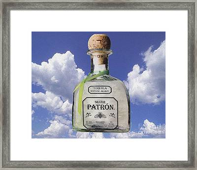 Patron Framed Print by Cheryl Young