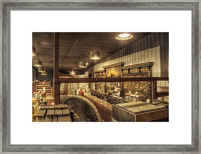 Patrons Of The Tasting Bar Framed Print by Jason Politte