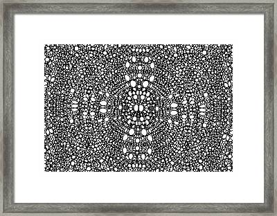 Pattern 2 - Intricate Exquisite Pattern Art Prints Framed Print by Sharon Cummings