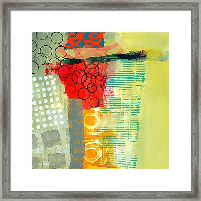 Pattern Study #3 Framed Print by Jane Davies