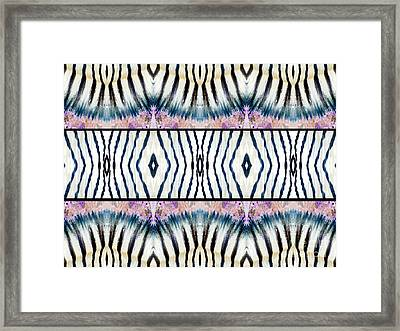 Patterned After Nature IIi Framed Print by Lady Ex