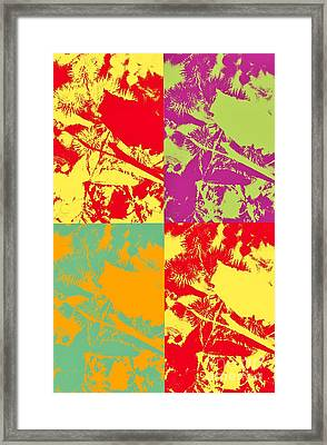 Patterns And Colors Framed Print by Kathleen Struckle