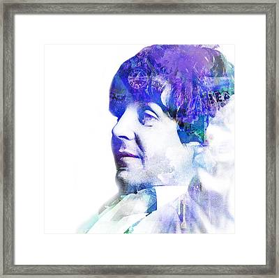 Paul Mccartney  Framed Print by Mike Maher