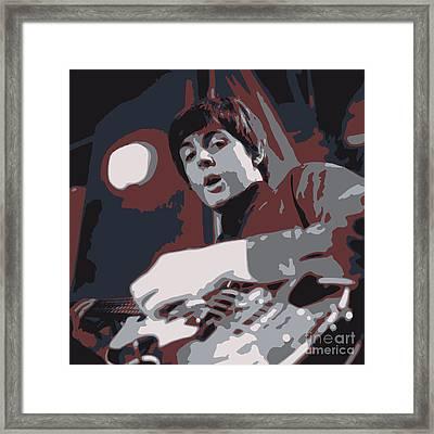 Paul Framed Print by Philip G