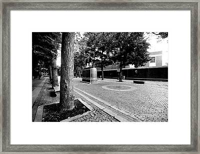 Paul Revere Mall Framed Print by Catherine Reusch  Daley