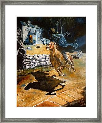 Paul Revere's Ride Framed Print by Robert Moore