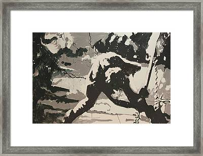 Paul Simonon Of The Clash Framed Print by Dustin Spagnola