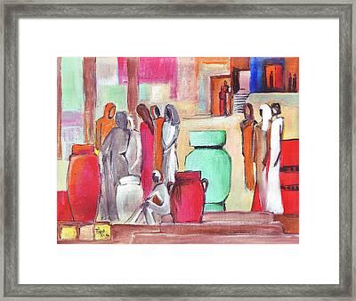 Pause Douceur Framed Print by Mirko Gallery