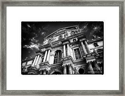 Pavillon Richelieu Framed Print by John Rizzuto