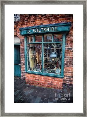 Pawnbrokers Shop Framed Print by Adrian Evans