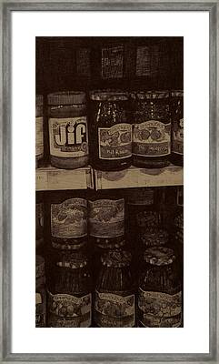 Pb And J Framed Print by Eileen Sleckman