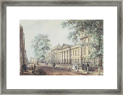 Pd.63-1958 Emmanuel College, Cambridge Framed Print by Richard Bankes Harraden