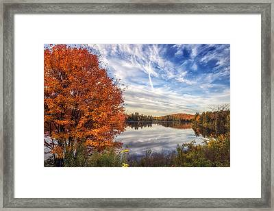Peace And Tranquility Framed Print by Mark Papke