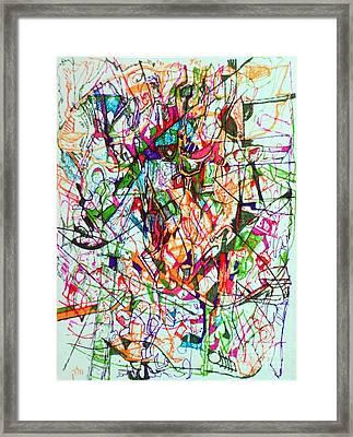 Peace And Wonderment 1 Framed Print by David Baruch Wolk