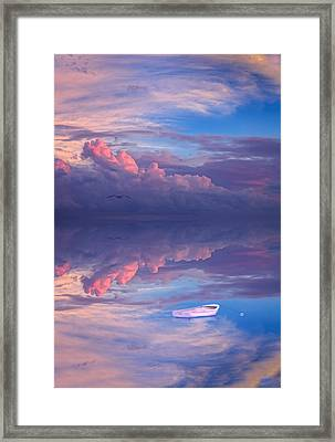 Peace. Be Still. Framed Print by Michael Petrizzo