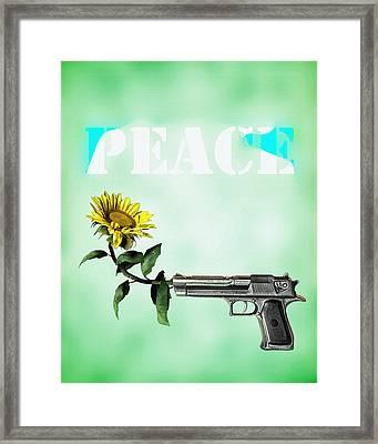 Peace  Framed Print by Bob Orsillo