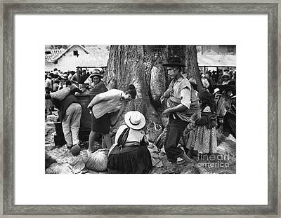 Peace Corps - Peru Framed Print by Granger
